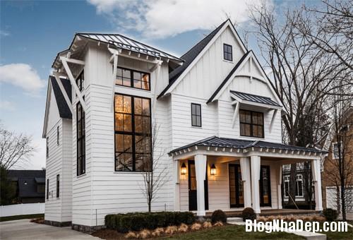 """20170307145436 nha dep 1 """"20 sắc thái"""" của những căn nhà màu trắng hiện đại đẹp miễn chê"""