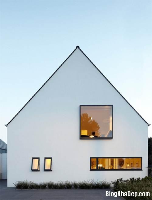 """20170307145436 nha dep 10 """"20 sắc thái"""" của những căn nhà màu trắng hiện đại đẹp miễn chê"""