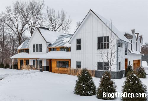 """20170307145436 nha dep 3 """"20 sắc thái"""" của những căn nhà màu trắng hiện đại đẹp miễn chê"""