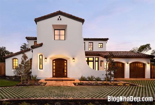 """20170307145436 nha dep 9 """"20 sắc thái"""" của những căn nhà màu trắng hiện đại đẹp miễn chê"""