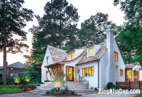 """20170307145922 nha dep 16 """"20 sắc thái"""" của những căn nhà màu trắng hiện đại đẹp miễn chê"""