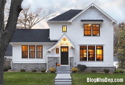 """20170307145922 nha dep 19 """"20 sắc thái"""" của những căn nhà màu trắng hiện đại đẹp miễn chê"""