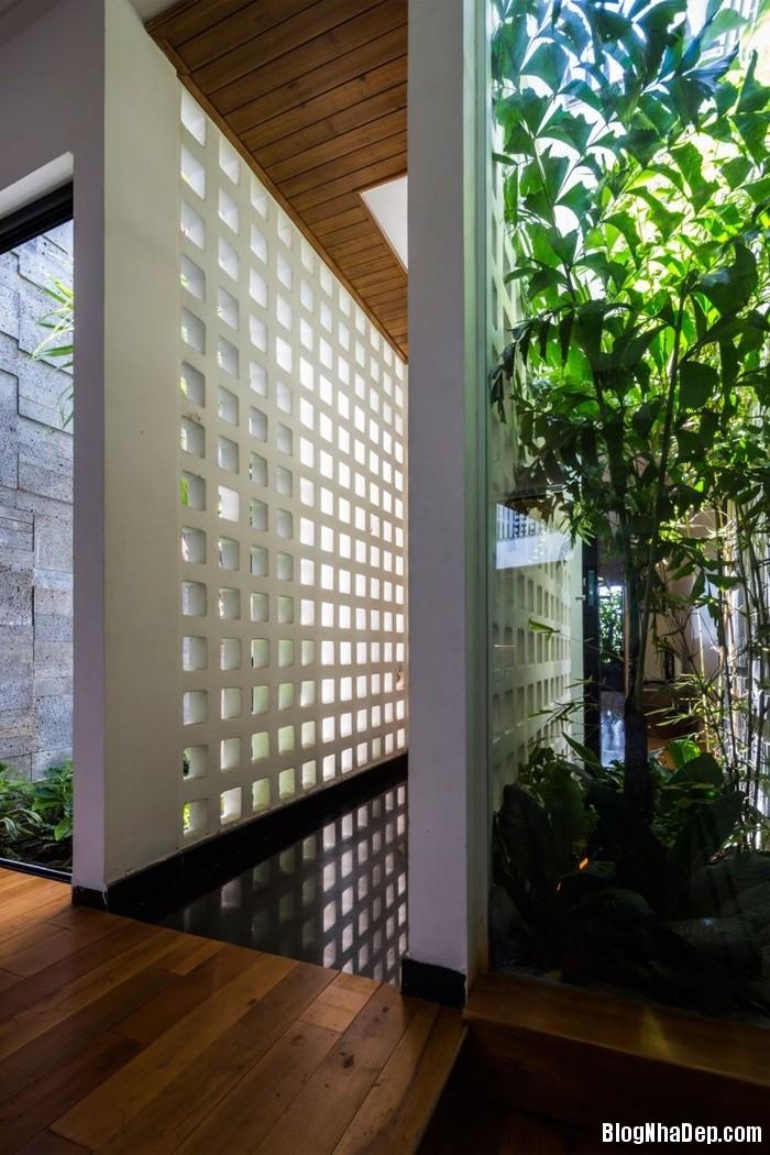 nha pho 4 tang ngap tran cay xanh o da nang 10 062800009 Mẫu ngôi nhà 4 tầng với vườn cây xanh mát quanh năm ở Đà Nẵng