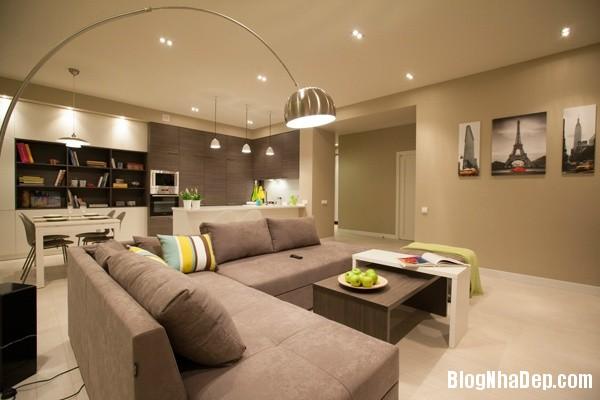 can ho mau be 1 223455087 Kiểu nội thất giản dị nhưng cuốn hút của căn hộ chung cư 45m2