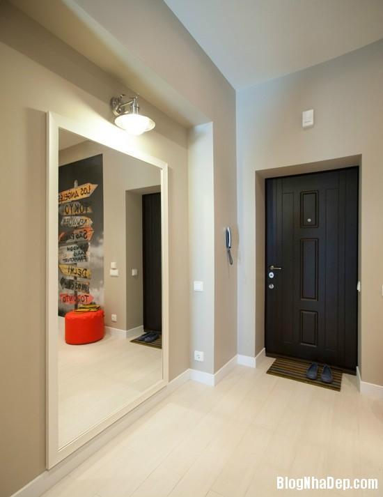 can ho mau be 10 22345511 Kiểu nội thất giản dị nhưng cuốn hút của căn hộ chung cư 45m2