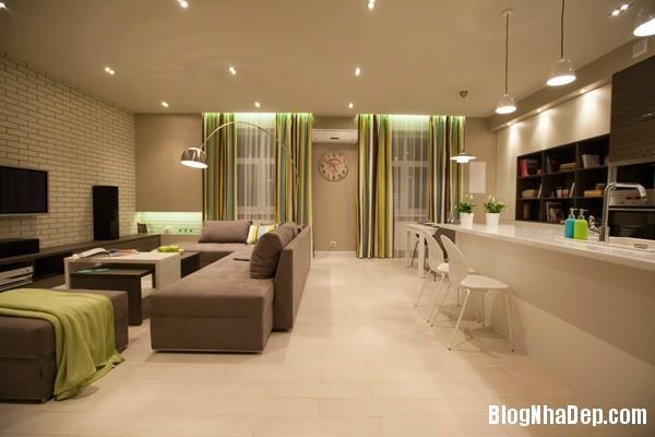 can ho mau be 4 223455186 Kiểu nội thất giản dị nhưng cuốn hút của căn hộ chung cư 45m2