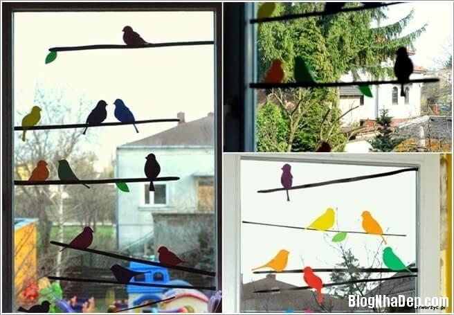 trang tri 3 1491321436 15 cách trang trí sáng tạo cho cửa sổ đẹp lung linh