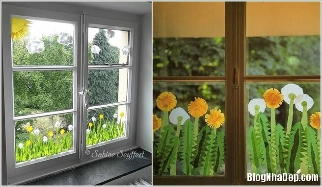 trang tri 4 1491321451 15 cách trang trí sáng tạo cho cửa sổ đẹp lung linh