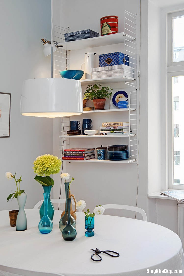 thiet ke can ho dep phong cach scandinavian 11 Thiết kế nội thất căn hộ chung cư đẹp theo phong cách scandinavian