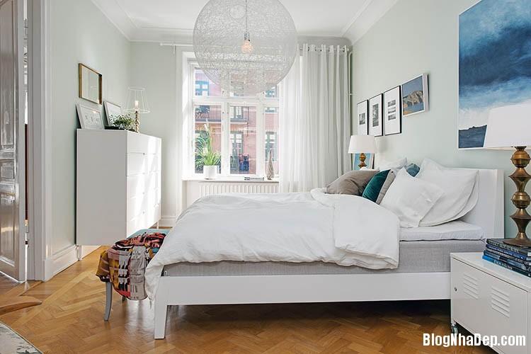 thiet ke can ho dep phong cach scandinavian 16 Thiết kế nội thất căn hộ chung cư đẹp theo phong cách scandinavian