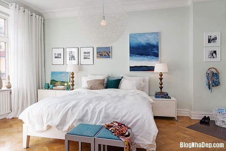 thiet ke can ho dep phong cach scandinavian 18 Thiết kế nội thất căn hộ chung cư đẹp theo phong cách scandinavian