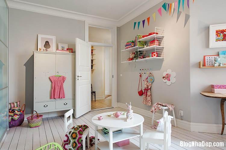 thiet ke can ho dep phong cach scandinavian 20 Thiết kế nội thất căn hộ chung cư đẹp theo phong cách scandinavian