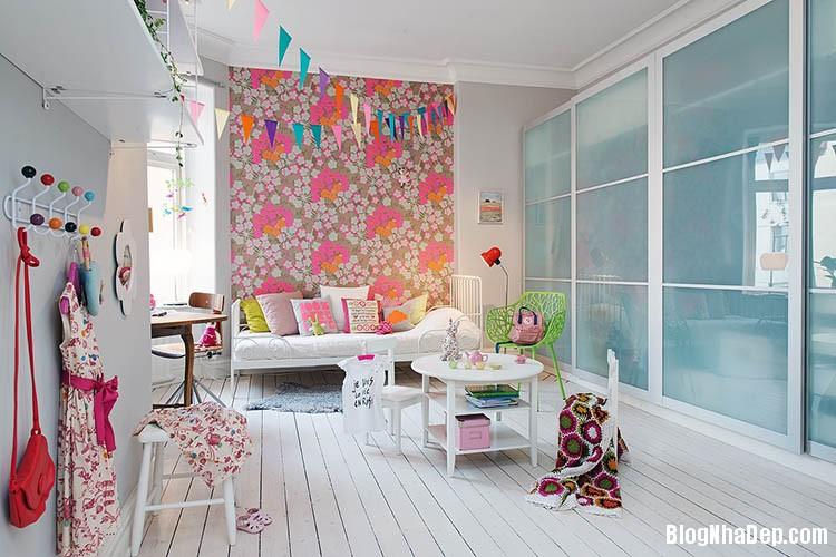 thiet ke can ho dep phong cach scandinavian 21 Thiết kế nội thất căn hộ chung cư đẹp theo phong cách scandinavian