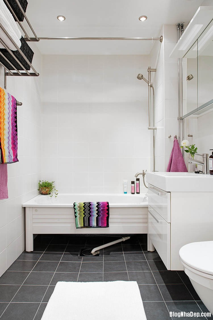 thiet ke can ho dep phong cach scandinavian 23 Thiết kế nội thất căn hộ chung cư đẹp theo phong cách scandinavian
