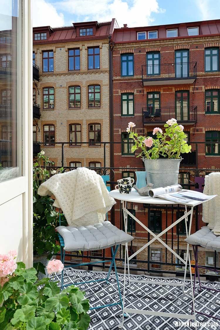 thiet ke can ho dep phong cach scandinavian 24 Thiết kế nội thất căn hộ chung cư đẹp theo phong cách scandinavian