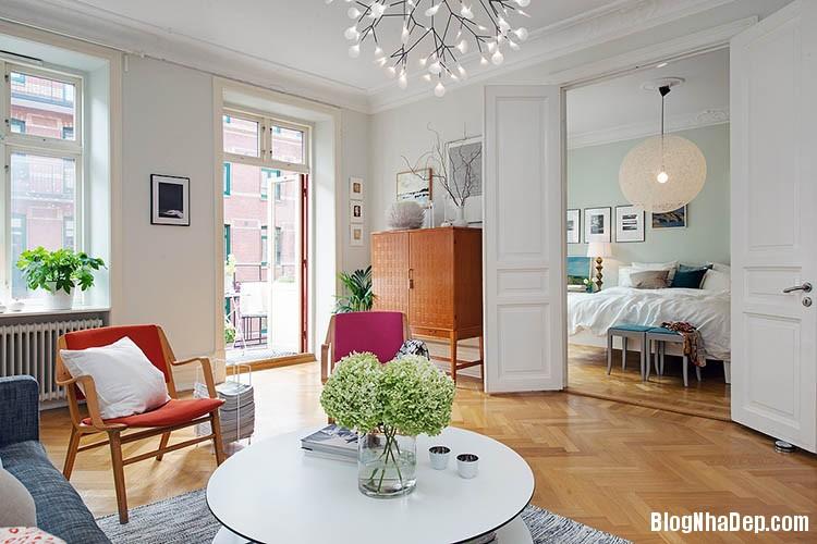 thiet ke can ho dep phong cach scandinavian 4 Thiết kế nội thất căn hộ chung cư đẹp theo phong cách scandinavian