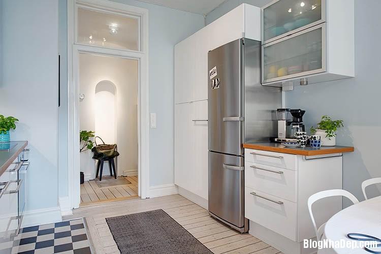 thiet ke can ho dep phong cach scandinavian 9 Thiết kế nội thất căn hộ chung cư đẹp theo phong cách scandinavian