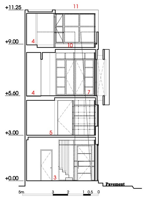 082609l 10 Nhà 27m2 nổi bật giữa phố Sài Gòn vì có kiến trúc lạ