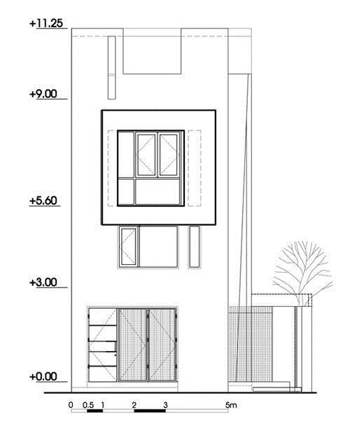 082609l 11 Nhà 27m2 nổi bật giữa phố Sài Gòn vì có kiến trúc lạ