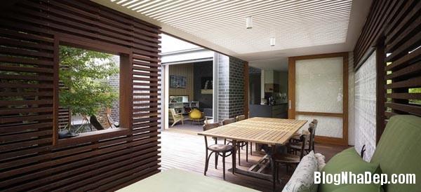 015823l 12 Mẫu kiến trúc nhà phố hiện đại từ gỗ và gạch thô