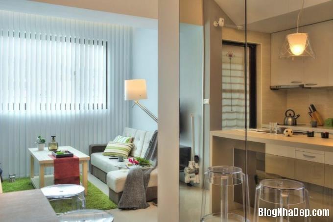 080051l 15 Ai cũng mơ ước được sở hữu căn hộ 32m2 tuyệt đẹp như thế này