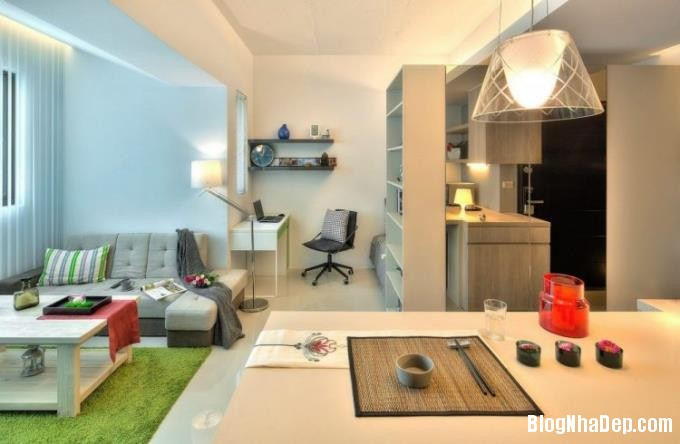 080051l 16 Ai cũng mơ ước được sở hữu căn hộ 32m2 tuyệt đẹp như thế này