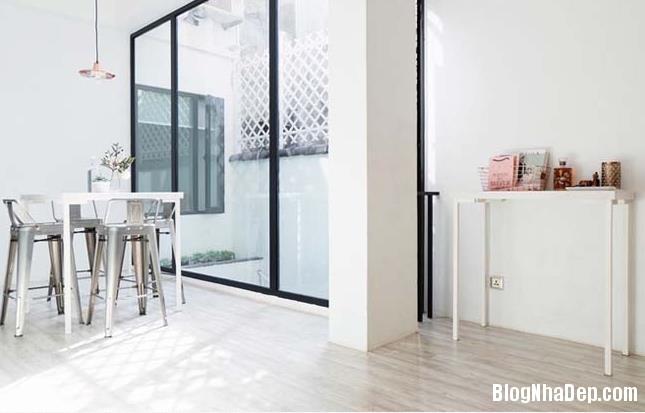 015550l 3 Ngôi nhà cấp 4 trắng sáng nhờ thiết kế và cải tạo lại