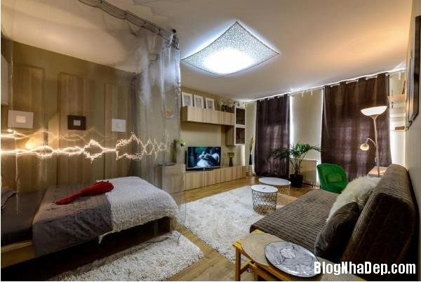 015522l 1 Thiết kế căn hộ 25m2 này khiến cho những cô nàng độc thân phải phát thèm