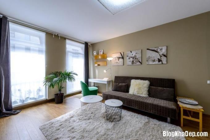 015522l 3 Thiết kế căn hộ 25m2 này khiến cho những cô nàng độc thân phải phát thèm