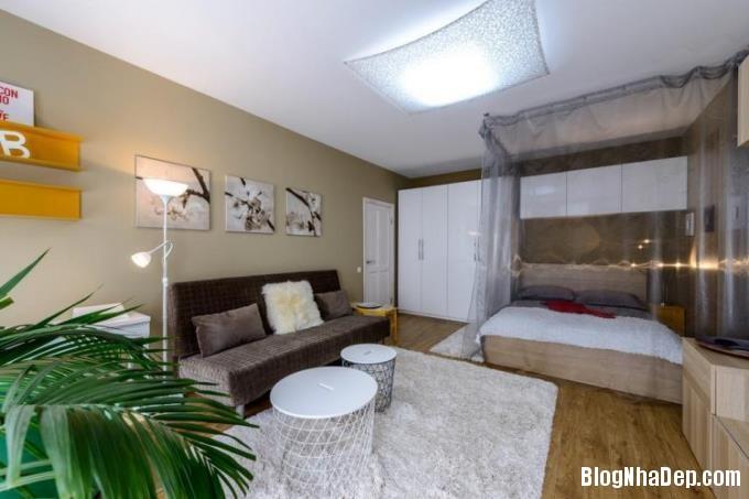 015522l 6 Thiết kế căn hộ 25m2 này khiến cho những cô nàng độc thân phải phát thèm