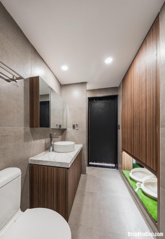 075716l 9 Mẫu căn hộ 110m2 ở Hà Nội lột xác sang trọng nhờ thiết kế mở và gỗ công nghiệp