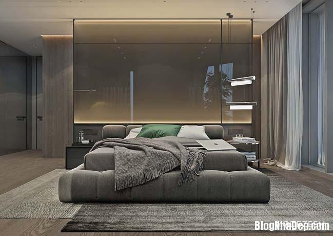 can ho duplex penthouse 19 Mẫu căn hộ duplex penthouse lấy cảm hứng từ rừng nhiệt đới