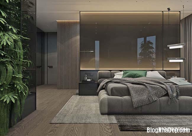 can ho duplex penthouse 25 Mẫu căn hộ duplex penthouse lấy cảm hứng từ rừng nhiệt đới