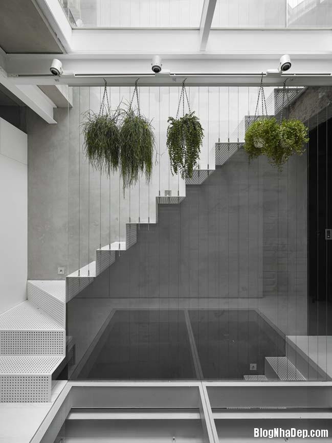 nha pho dep 3 tang 07 Cách cải tạo ngôi nhà 50 tuổi thành không gian ngập tràn ánh sáng