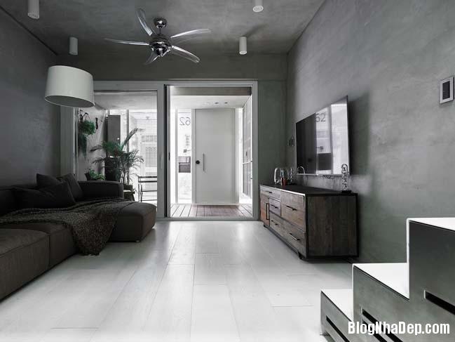 nha pho dep 3 tang 09 Cách cải tạo ngôi nhà 50 tuổi thành không gian ngập tràn ánh sáng
