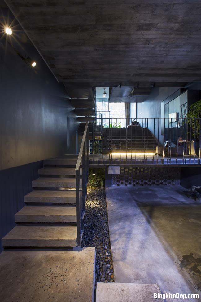 mau nha pho dep tai ha noi 12 Mẫu nhà phố đẹp với thiết kế đầy phá cách tại Hà Nội