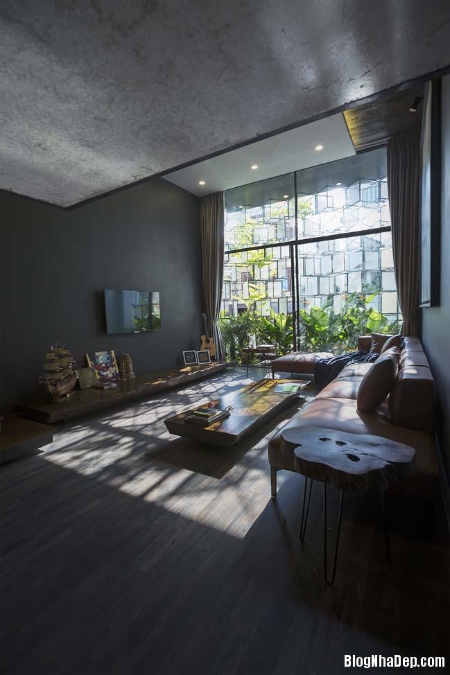 mau nha pho dep tai ha noi 13 Mẫu nhà phố đẹp với thiết kế đầy phá cách tại Hà Nội