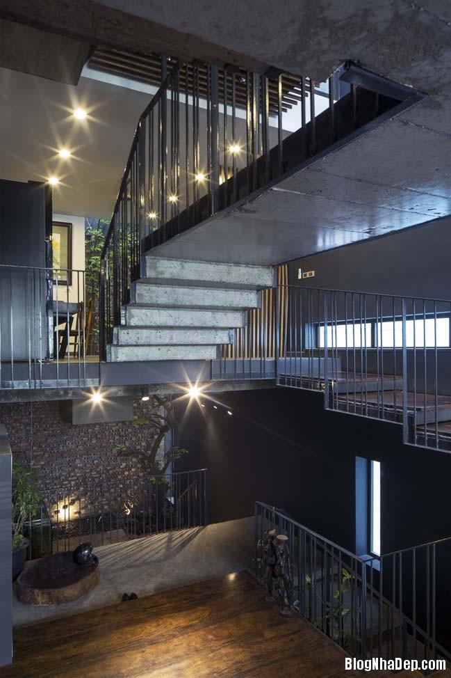 mau nha pho dep tai ha noi 14 Mẫu nhà phố đẹp với thiết kế đầy phá cách tại Hà Nội