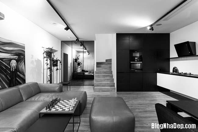 nha pho nho dep 2 tang 02 Mẫu thiết kế đẹp dành cho nhà phố nhỏ 2 tầng 1 phòng ngủ