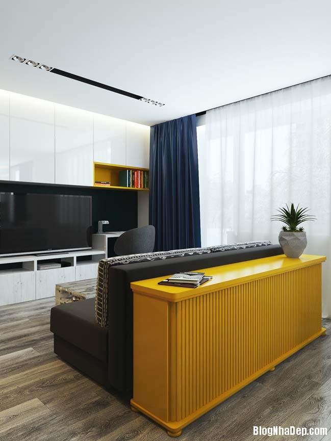 can ho chung cu nho cho game thu 01 Mẫu căn hộ chung cư nhỏ đẹp dành cho các game thủ
