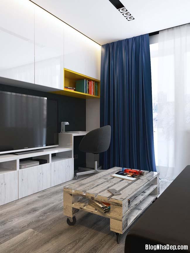 can ho chung cu nho cho game thu 03 Mẫu căn hộ chung cư nhỏ đẹp dành cho các game thủ