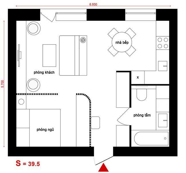can ho chung cu nho cho game thu 16 Mẫu căn hộ chung cư nhỏ đẹp dành cho các game thủ