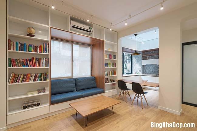 bien nha cap 4 thanh khong gian dep tai ha noi 02 Cách biến ngôi nhà cũ thành không gian đẹp khang trang
