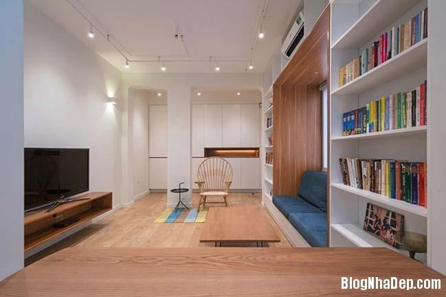 bien nha cap 4 thanh khong gian dep tai ha noi 03 Cách biến ngôi nhà cũ thành không gian đẹp khang trang