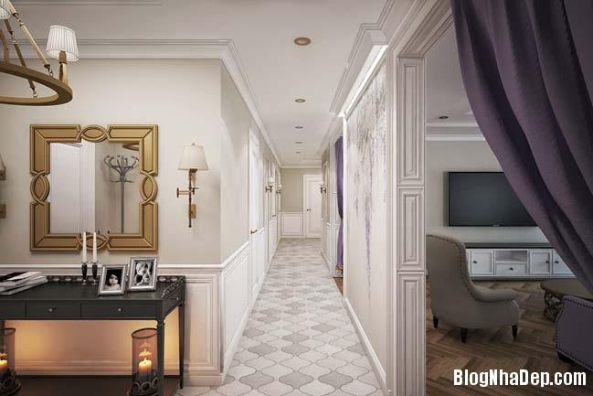 can ho cao cap 3 phong ngu voi phong cach co dien 07 Mẫu căn hộ 3 phòng ngủ với thiết kế cổ điển và sang trọng