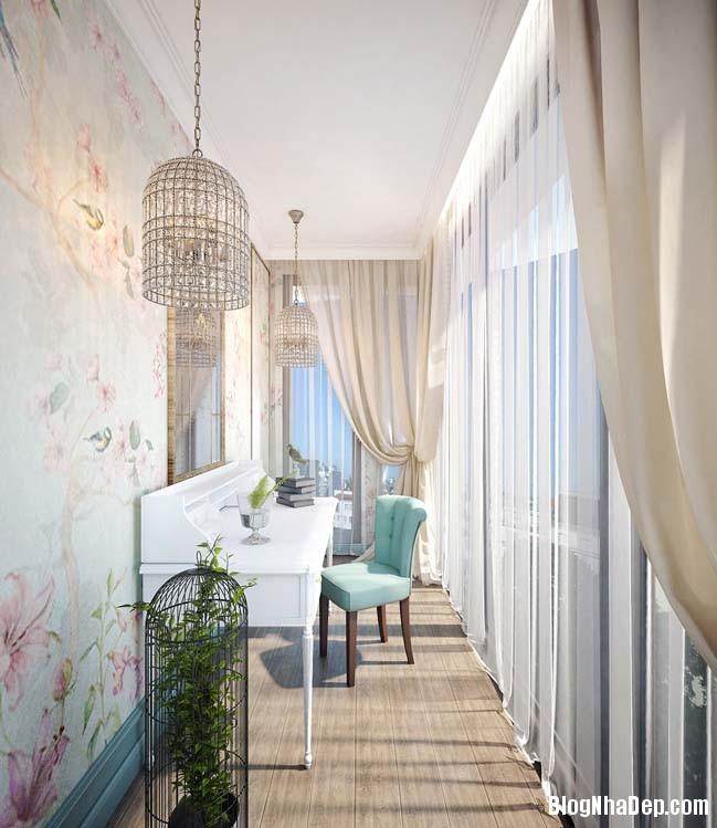 can ho cao cap 3 phong ngu voi phong cach co dien 12 Mẫu căn hộ 3 phòng ngủ với thiết kế cổ điển và sang trọng