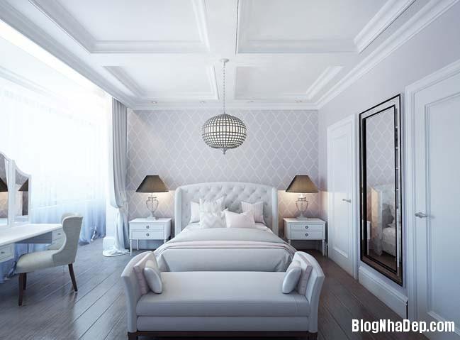 can ho cao cap 3 phong ngu voi phong cach co dien 18 Mẫu căn hộ 3 phòng ngủ với thiết kế cổ điển và sang trọng