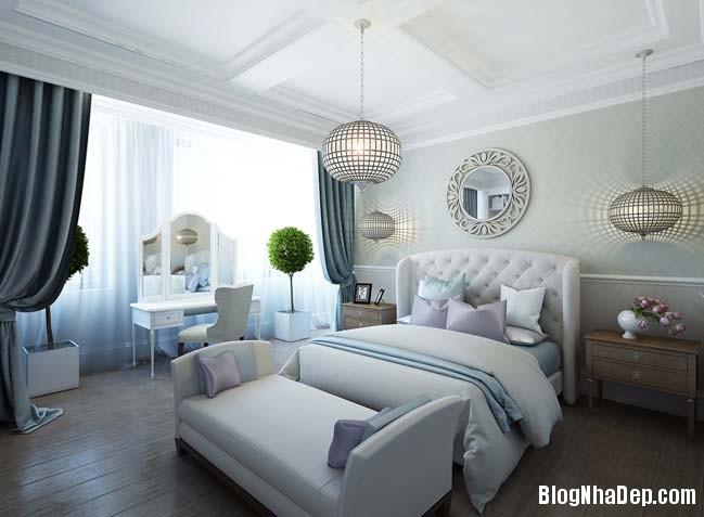 can ho cao cap 3 phong ngu voi phong cach co dien 20 Mẫu căn hộ 3 phòng ngủ với thiết kế cổ điển và sang trọng