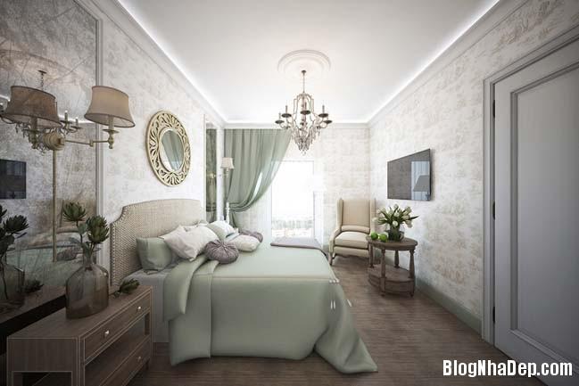 can ho cao cap 3 phong ngu voi phong cach co dien 22 Mẫu căn hộ 3 phòng ngủ với thiết kế cổ điển và sang trọng