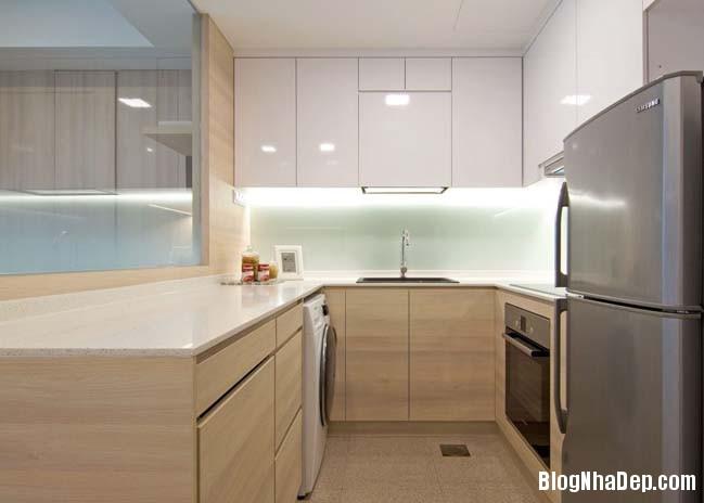 mau thiet ke can ho chung cu 42m2 05 Mẫu thiết kế cực đẹp cho căn hộ chung cư 42m2